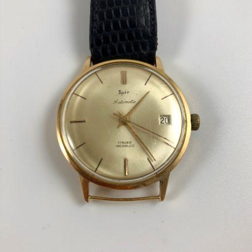 SPIR Automatic Vers 1950. Réf: 1404 / 200XXX. Montre bracelet en or jaune 18K, b…