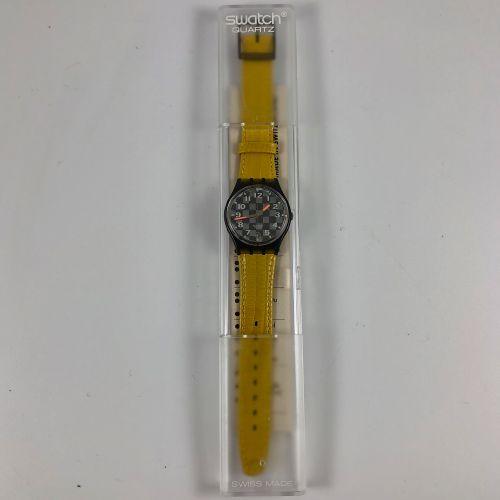"""特警队 约在1993年。 编号:GM402。 手表型号 """"Clubs""""。 石英机芯。 崭新的状态,原盒。 直径:34毫米。 为了更好地保存,购买时将电池取出,不…"""
