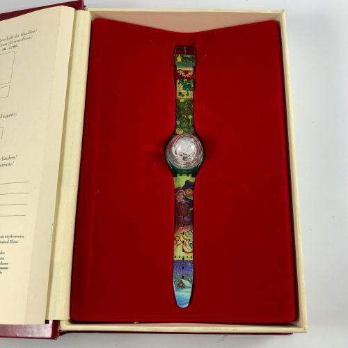 SWATCH THE MAGIC SPELL. VERS 1905. Edition limitée conte de Noël Swatch. Montre …