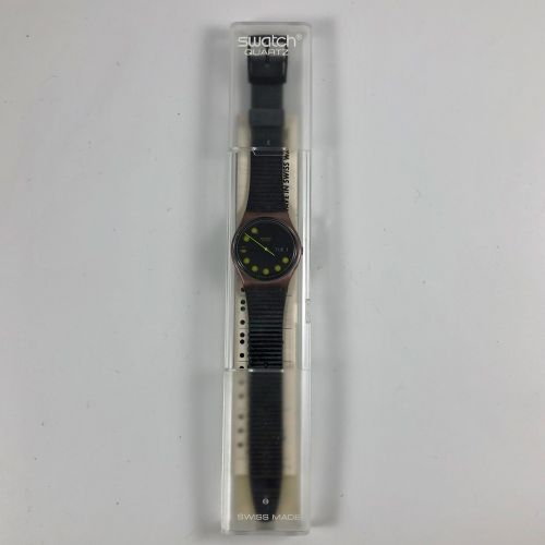 """特警队 约1991年。 编号:GX706。 手表型号 """"Brightlight""""。 石英机芯。 崭新的状态,原盒。 直径:34毫米。 为了更好地保存,购买时将电…"""
