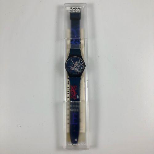 """特警队 约1990年。 编号:GB135。 手表型号 """"Tristan""""。 石英机芯。 崭新的状态,原盒。 直径:34毫米。 为了更好地保存,购买时将电池取出,…"""