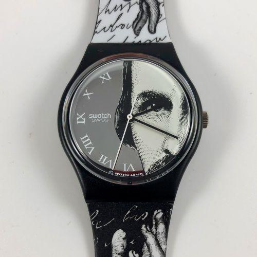 """特警队 约1992年。 编号:GB149。 瞥一眼 """"模型腕表。 石英机芯。 崭新的状态,原盒。 直径:34毫米。 为了更好地保存,购买时将电池取出,不包括在内…"""