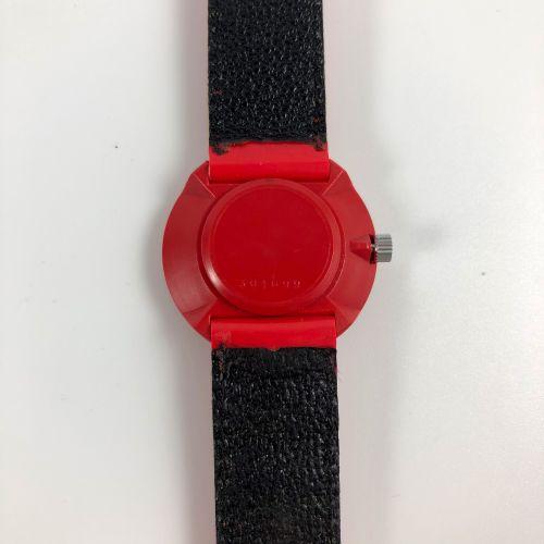 LIP Michel Boyer Vers 1976. Réf: 301XXX. Montre bracelet en plastique, boitier r…