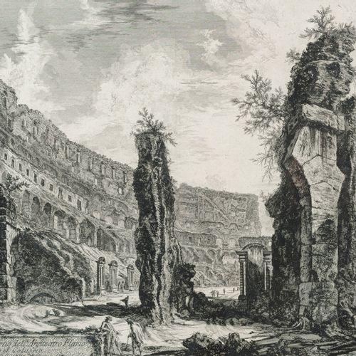 Piranesi, Giovanni Battista, Mogliano/Venise 1720 Rome 1778, Veduta dell'interno…