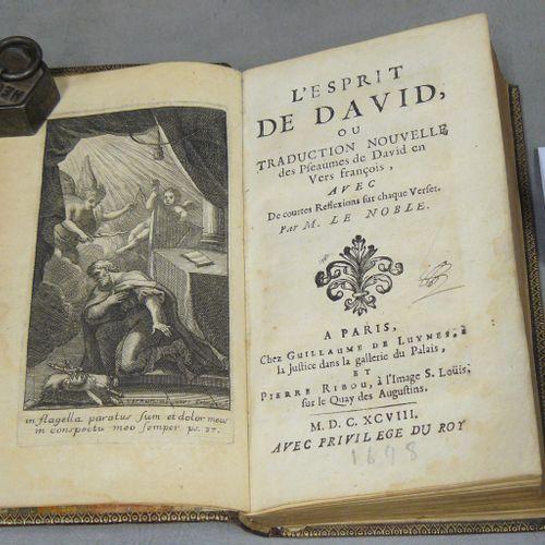LE NOBLE LE NOBLE L'esprit de David ou traduction nouvelle des psaumes de David …