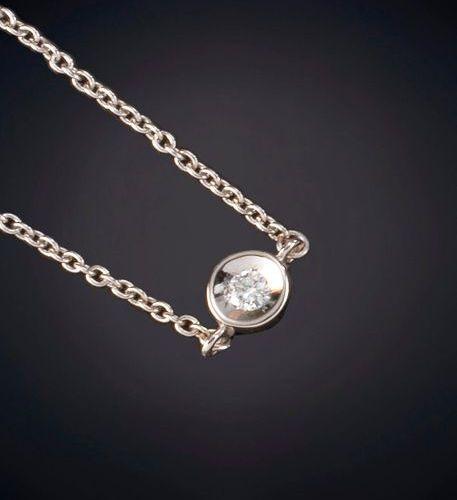 BELLA BRACELET LUMINEUX sur un cadre en or blanc 18 carats. Prix : 225,00 euros.…