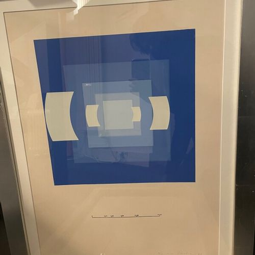 Nausika PASTRA (1932)  Abstract composition  Litography on paper signed and date…