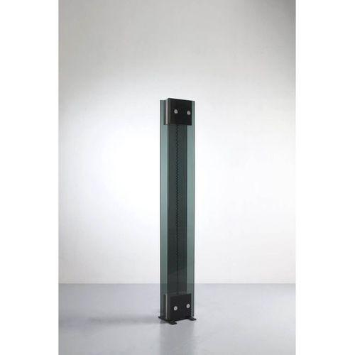 "Nanda Vigo (1936 2020)  Model n° 14110, ""Osiris""  Floor lamp  Tinted glass, nick…"