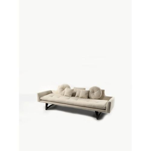 Adrian Pearsall (1925 2011)  Sofa  Wood and fabric  Craft Associates edition  Cr…