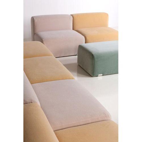 Kazuhide Takahama (1930 2010)  Marcel  Modular sofa and pair of hassocks  Velvet…
