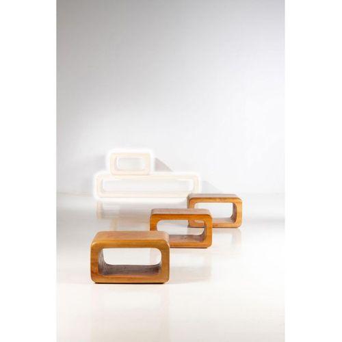 Mauro Mori (born 1965)  Contenitore Modulare  Set of four modular stools  Albizi…