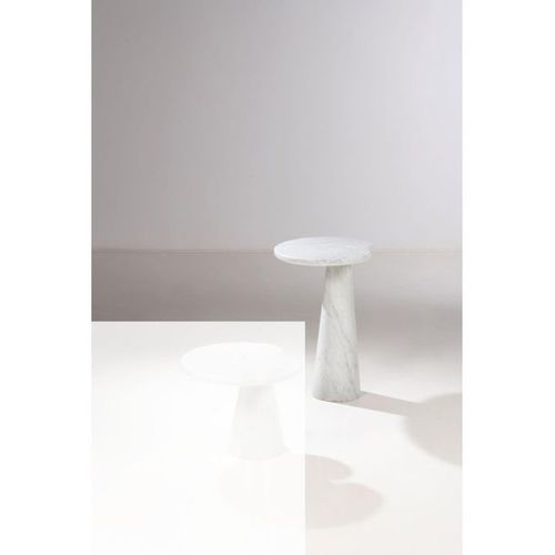 Angelo Mangiarotti (1921 2012)  Eros  Side table  Carrara marble  Skipper editio…