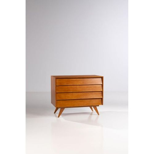 Ƒ José Zanine Caldas (1919 2001)  Chest of drawers  Veneer and Peroba wood  Move…