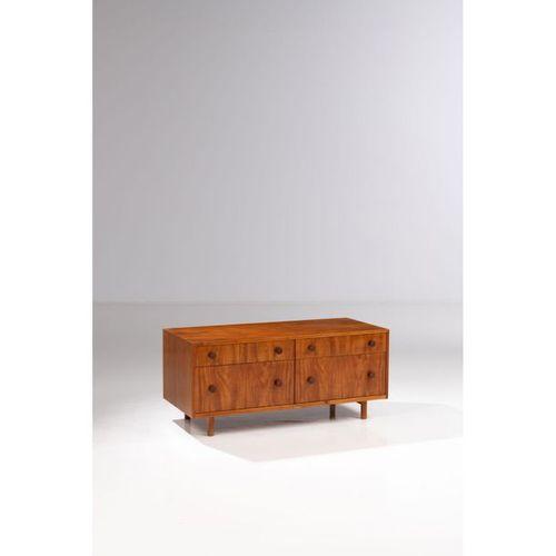 Joaquim Tenreiro (1906 1992)  Low chest of drawers  Peroba wood  Langenbach & Te…