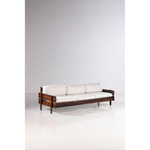 Ƒ Celina Decoracoes (XX)  Sofa  Imbuia wood and fabric  Creation date: circa 196…