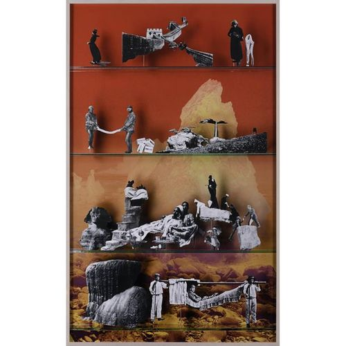 Matt Lipps (born 1975)  Travel (The populist Camera), 2013  Ilfochrome print  Si…