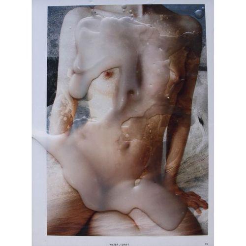 "Clara Champsaur (born 1992)  Water/drift  Chromogenic print  Numbered ""7/7""  Fro…"