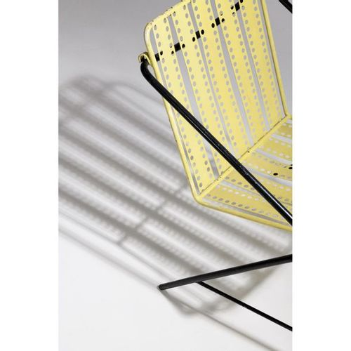 Mathieu Matégot (1910 2001)  Pair of 'Santiago' armchairs  Folded steel tube and…