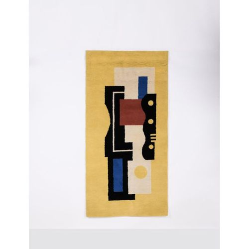 Fernand Léger (1881 1955)  Carpet says 'Yellow n°9'.  Laine  Executed in Aubusso…