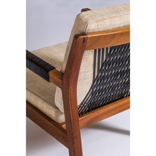 Carl Gustaf Hiort af Ornäs (1911 1996)  Rialto  Paire de fauteuils  Teck, cuir e…