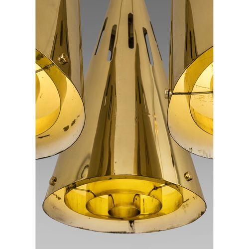 Paavo Tynell (1890 1973)  Suspension  Laiton  Modèle créé à la fin des années 19…