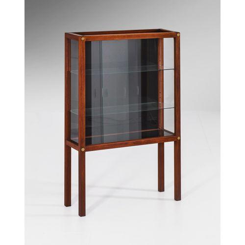 Carl Gustaf Hiort af Ornäs (1911 1996)  Näyttely vitriini  Vitrine  Teck et verr…