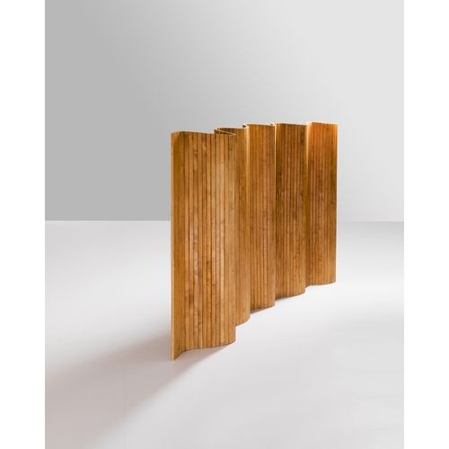 Alvar Aalto (1898 1976)  Paravent  Bouleau  Modèle créé vers 1950  H 175 × L 300…