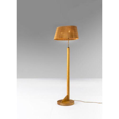 Aino Aalto (1894 1949)  Modèle n°AMA 806  Lampadaire  Bouleau, laiton et lamelle…