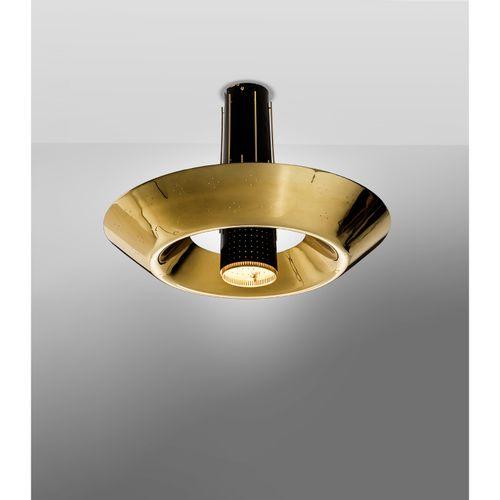 Paavo Tynell (1890 1973)  Modèle n°4044  Suspension  Laiton et métal laqué  Édit…