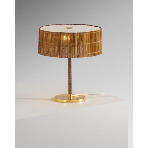 Paavo Tynell (1890 1973)  Lampe de table  Laiton et bois  Édition Taito Oy  Grav…