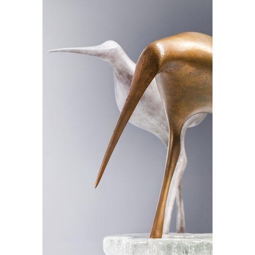 Tapio Wirkkala (1915 1985)  Bécasses  Ensemble de deux sculptures  Bronze, alumi…