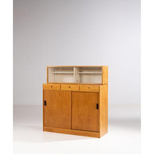 Aino Aalto (1894 1949)  Cabinet  Bouleau  Édition Artek  Cachet 'AALTO DESIGN MA…