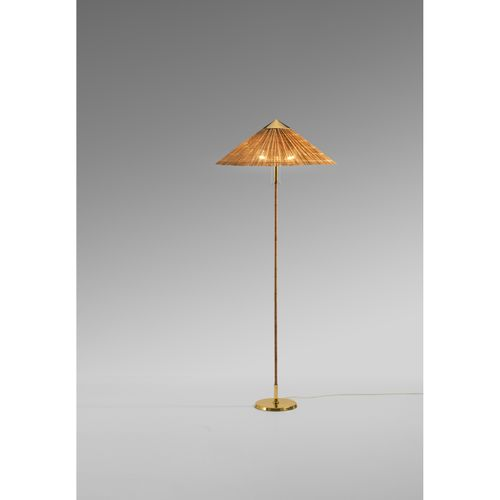 Paavo Tynell (1890 1973)  Modèle n°9627 dit 'Chinese Hat'  Lampadaire  Laiton, r…