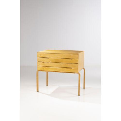 Alvar Aalto (1898 1976)  Commode  Bouleau  Modèle créé vers 1950  H 100,5 × L 10…