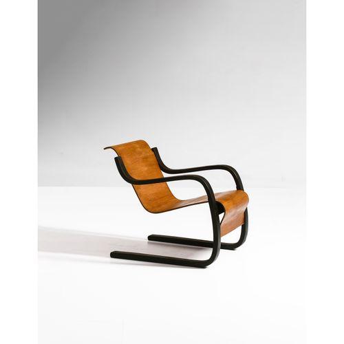 Alvar Aalto (1898 1976)  Modèle n°42 dit 'Pikku Paimio'  Fauteuil  Bouleau  Édit…