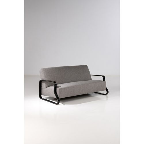 Alvar Aalto (1898 1976)  Modèle n°544  Canapé  Bouleau et textile  Édition Huone…