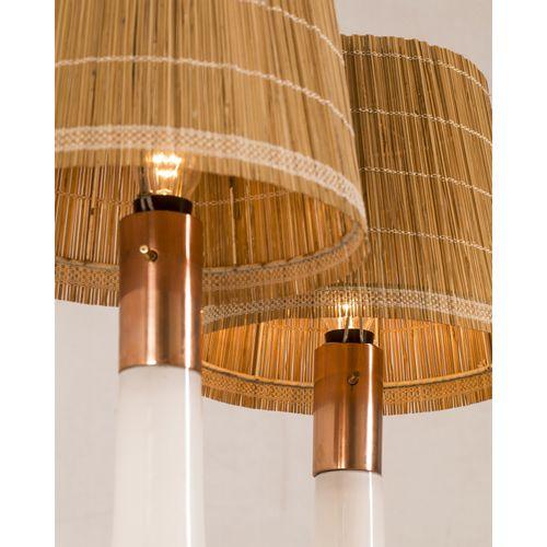 Lisa Johansson Pape (1907 1989)  Modèle n°46 017  Paire de lampes de table  Verr…