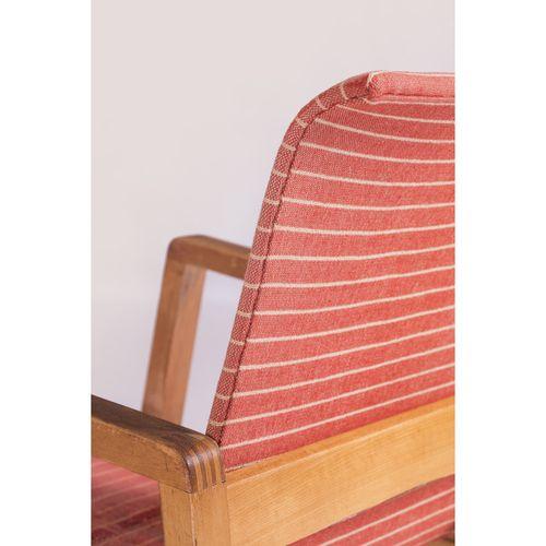 Alvar Aalto (1898 1976)  Modèle n°51, dit 'Hallway'  Paire de fauteuils  Bouleau…