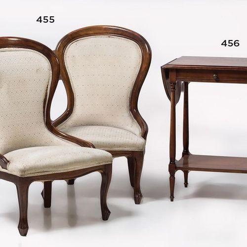 Pair of Elizabethan style armchairsPair of Elizabethan style armchairs in mahoga…