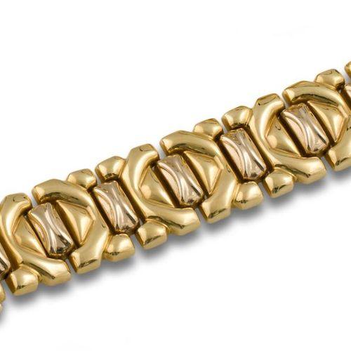 PULSERA PUZZLE ORO 71Pulsera puzzle oro amarillo de 18kts, peso de 47grs