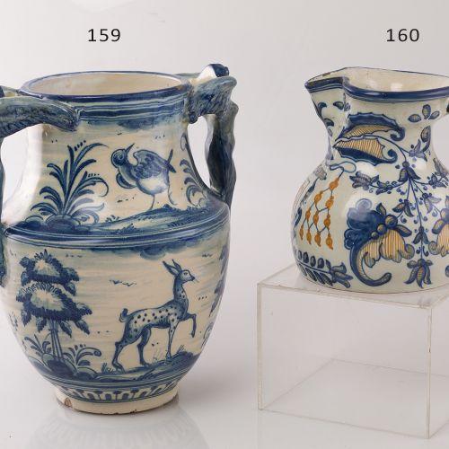 Talavera Vase C. XX Talavera ceramic jug, following ancient models of the eighte…