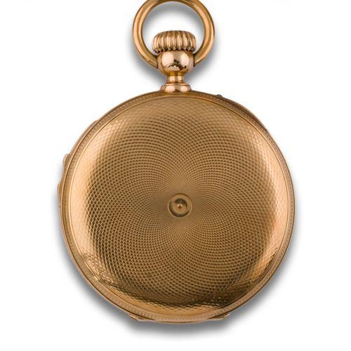 Grosclaude pocket watch 30697 Montre de poche s. XIX GROSCLAUDE. Mouvement remon…