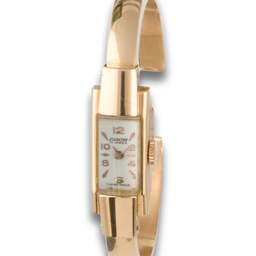 GOLD EXACTUS WATCH 40'S Montre EXACTUS 1940s or jaune 18kt, mouvement mécanique,…