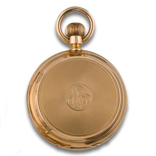 Gold pocket watch Peña y Sobrino Madrid 16112 Montre de poche s. XIX PEÑA y SOBR…