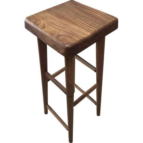"""Pierre Chapo : High stool S01C called """"normal 4 feet"""".  Solid Elm  Circa 1975  8…"""