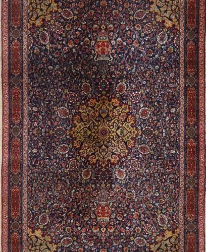 Fin MECHED (Iran) première partie du XX°: Caractéristiques techniques : velours …