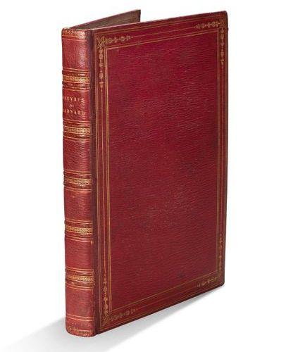 BERNARD (P.J). + OEuvres. Paris, P. Didot l'aîné, 1797, An V. In 4, maroquin rou…