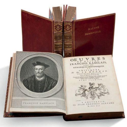 FRANÇOIS RABELAIS (1483 1553) Oeuvres de Maître François Rabelais, avec des Rema…