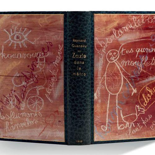 Raymond Queneau Zazie dans le métro Paris, Gallimard, 1959. In 8 (184x105 ); mar…