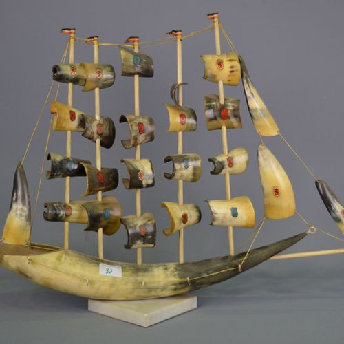 Horn boat.